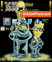Bart Simpsom Mib theme screenshot