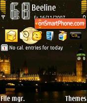 Big Ben theme screenshot