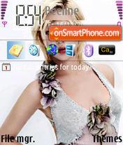 Scarlett Johansson 04 theme screenshot
