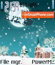 Animated Christmas es el tema de pantalla
