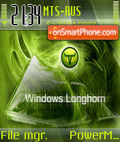 Longhom Green v2 theme screenshot