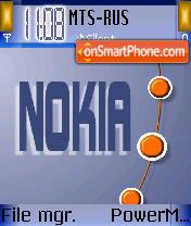 Nokia Dot theme screenshot