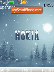 Nokia 7611 theme screenshot