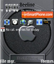 Скриншот темы Iphone 2007b