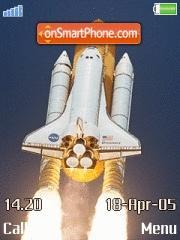 Dicovery Shuttle theme screenshot