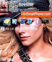 Avril Lavigne 04 theme screenshot