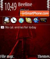 Hallo Rouge theme screenshot