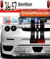 Скриншот темы Ferrari Fast