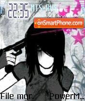 Emo Hate Or Love It theme screenshot