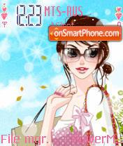 Shopping Girl Animated es el tema de pantalla