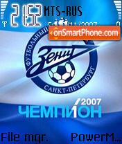 Zenit 04 theme screenshot