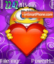 In Love 01 es el tema de pantalla
