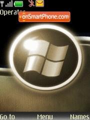 Скриншот темы Windows Gold