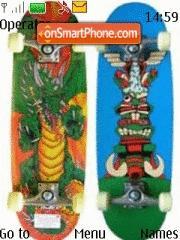 Skateboard 01 theme screenshot