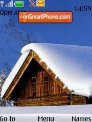 Скриншот темы Simple Winter Theme