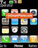 Nokia Iphone tema screenshot