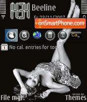 Скриншот темы Mariah Carey 04