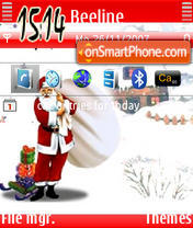 Santa theme screenshot