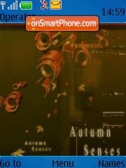 Скриншот темы Atumn Senses