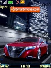Suzuki Concept theme screenshot