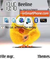 Smiley Music theme screenshot