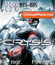 Krizis es el tema de pantalla