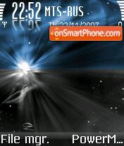 Infinity es el tema de pantalla