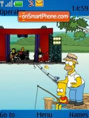 Скриншот темы Simpsons 05