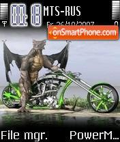 Dragon Bike es el tema de pantalla