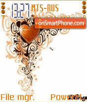 Animated Heart es el tema de pantalla