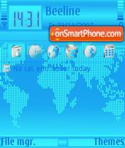Скриншот темы Maps