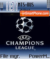 Champions League theme screenshot