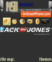 Jack&Jones theme screenshot