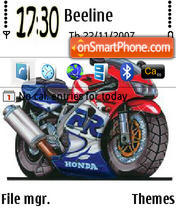 Honda 352 theme screenshot