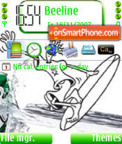 Fido Dido Ver2 theme screenshot