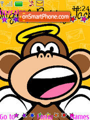 Скриншот темы Monkey