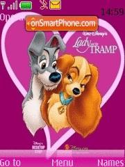 Скриншот темы Cartoon Love