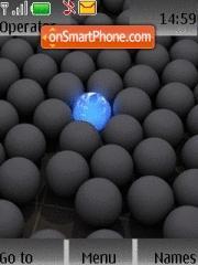 Скриншот темы Black Ball