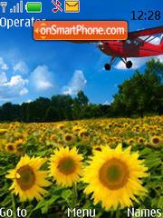 Sunflower Animated theme screenshot