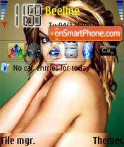 Скриншот темы Britney Spears