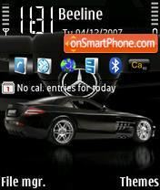 Mercedes Brabus SLR theme screenshot