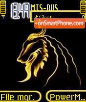 Скриншот темы Lion Neon