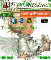 MerryXmas theme screenshot