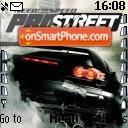 Need For Speed Pro Street es el tema de pantalla