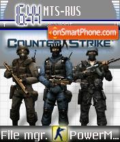 Counter Strike 09 es el tema de pantalla