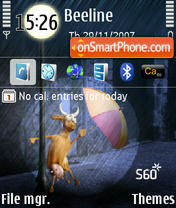 Cow S60 3rdEd 240x320 theme screenshot