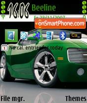 Green Chevrolet es el tema de pantalla