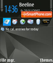 Nokia N-Series theme screenshot