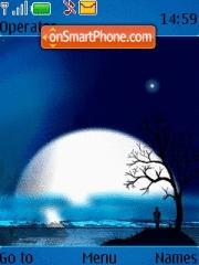 Alone With Moon es el tema de pantalla