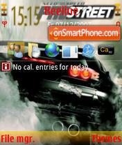 Nfs ProStreet theme screenshot